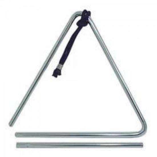 Triângulo Cromado 20cm T77 QUIRINO