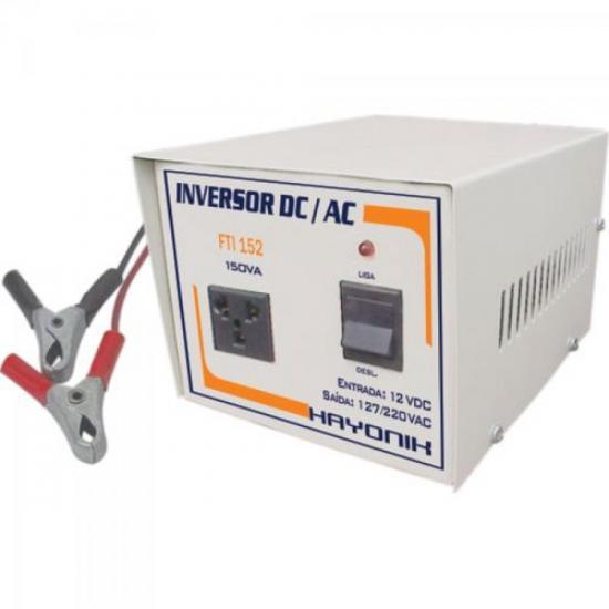 Inversor de Tensão 24V para 110/220V 150VA FTI154 HAYONIK
