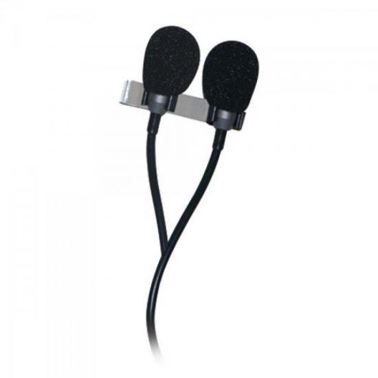 Microfone Lapela Duplo ML70D LESON