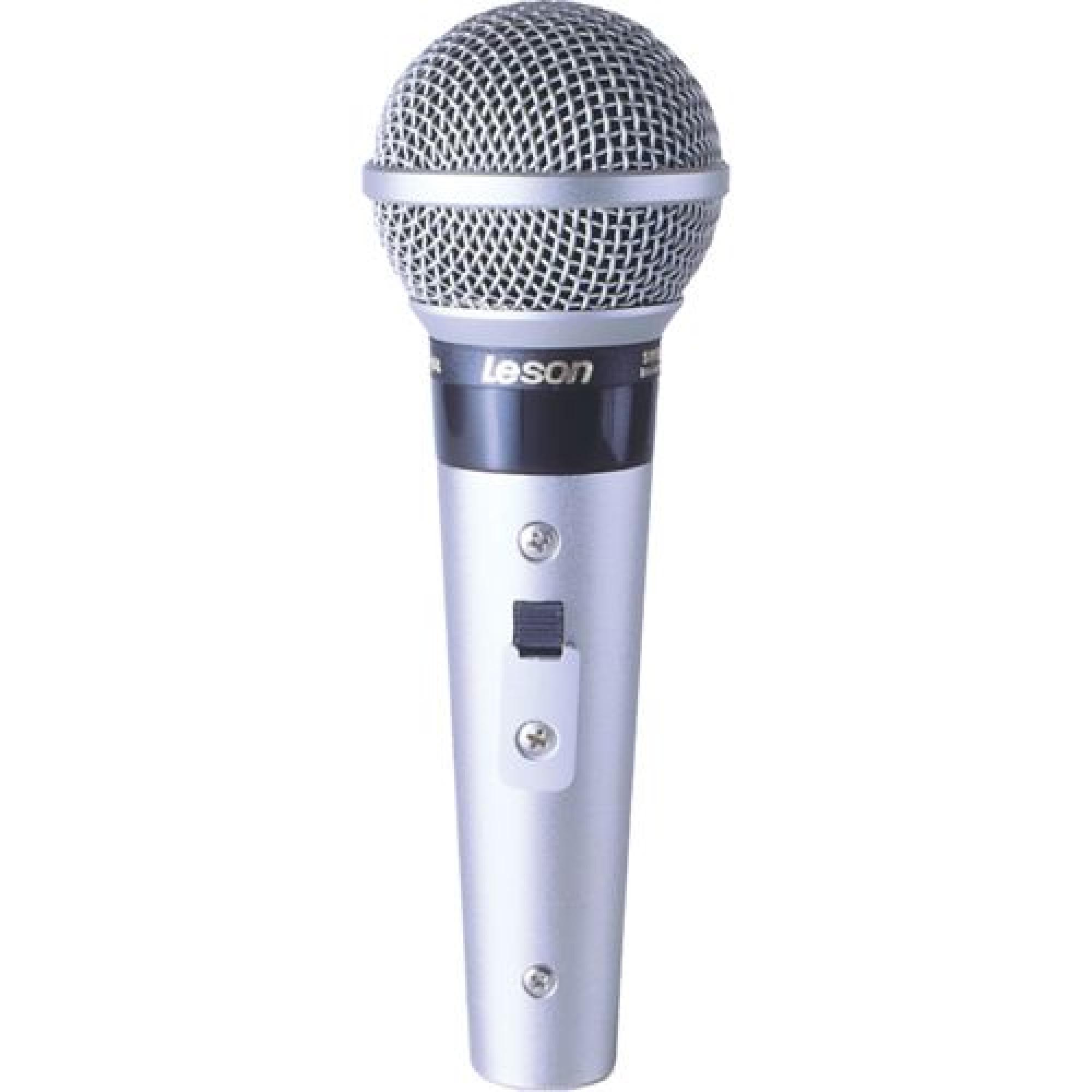 Microfone Profissional Com Fio Cardióide SM58 P4 LESON ...
