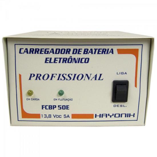 Sistema Carregador FCBP50E 13,8V 5A c/Flutuação HAYONIK