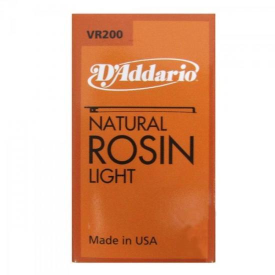 Breu Rosin light VR200 D´ADDARIO