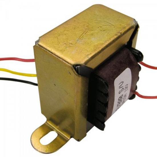 Transformador 12/800 12VAC 127/220VAC vertical 600mA HAYONIK