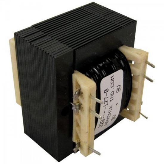 Transformador 9/800CI 9+9VAC 127/220VAC 400mA HAYONIK