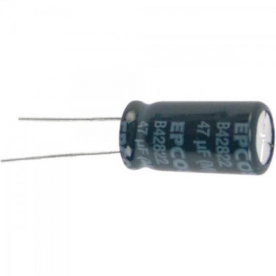 Condensador Eletrolítico 47/50V Radial Bipolar EPCOS