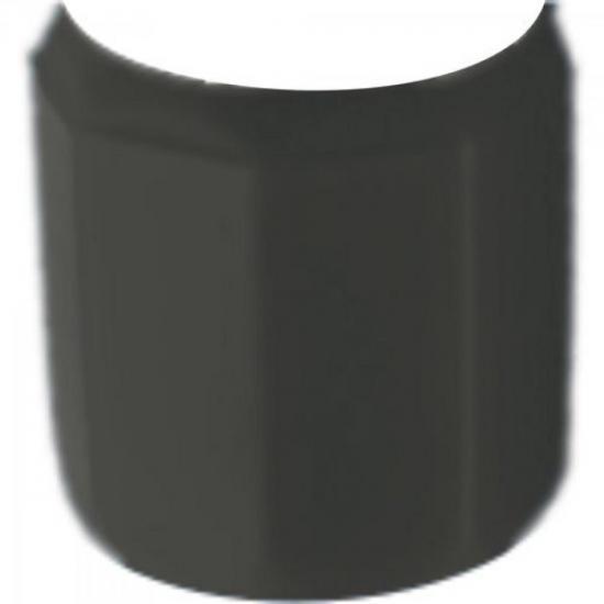 Conector Cannon XLR Macho 1/2 Plástico Preto GENÉRICO