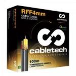 Coaxial Rolo RFF 4mm Bipolar 85% Branco Rolo 100m CABLETECH