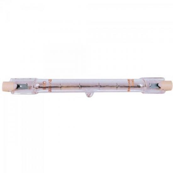 Lâmpada Halógena 127V 300W PALITO 11,8cm BRASFORT