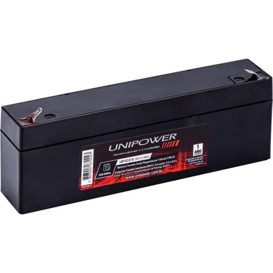 Bateria Selada UP1223 12V 2,3A UNIPOWER