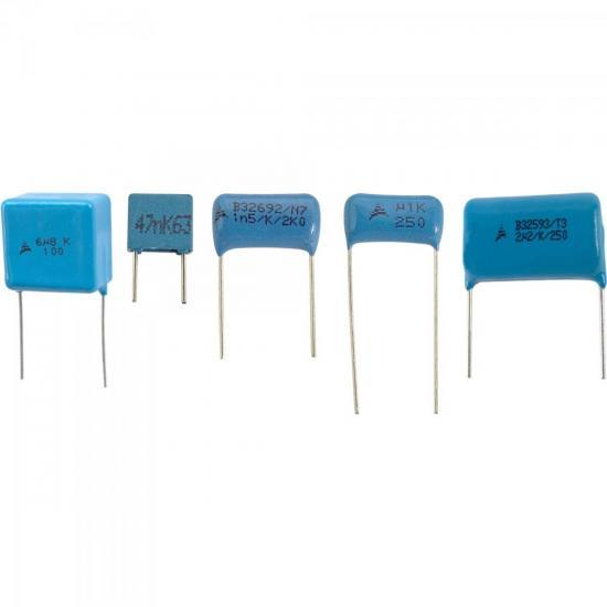 Condensador Poliéster 0,47/63V Radial Boxed EPCOS