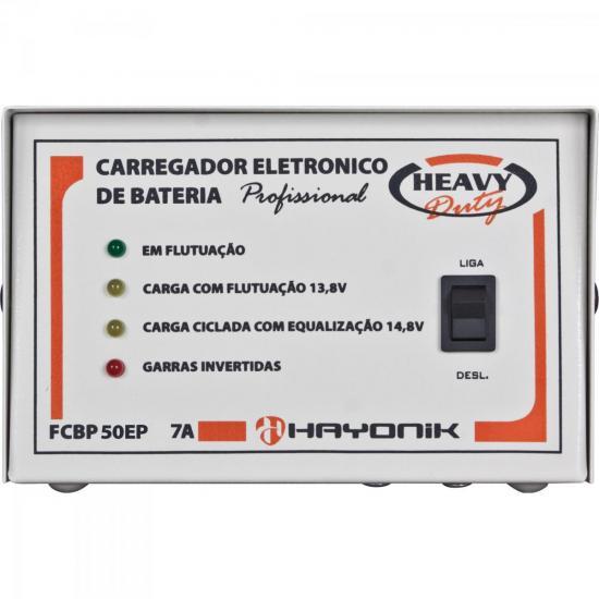 Sistema Carregador FCBP50EP 13,8V 5A Heavy Duty HAYONIK