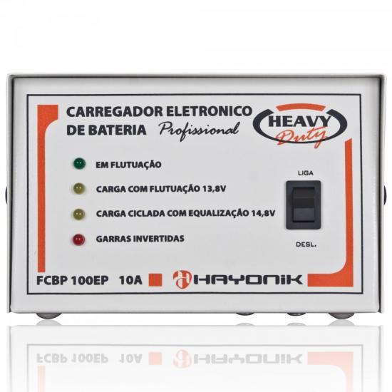 Sistema Carregador FCBP100EP 13,8V 10A Heavy Duty HAYONIK