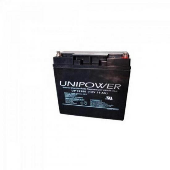 Bateria Selada UP12180 12V 18A UNIPOWER