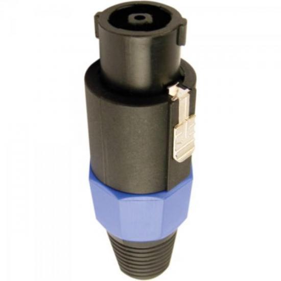 Conector Speakon Macho SPKN8-115 8 Polos Azul HYX