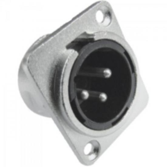 Conector XLR Macho Embutir EMB5 HYX