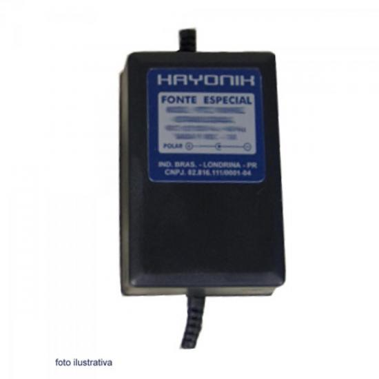 Fonte FCTM-9003 9VDC 3A Chaveada HAYONIK