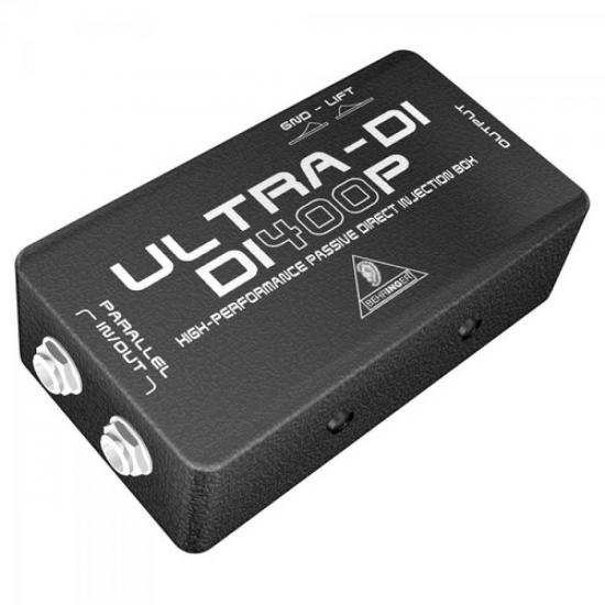 Direct Box Passivo Para Guitarra e Baixo DI400P BEHRINGER