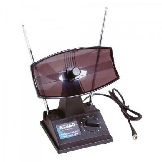 Antena Interna TV com Seletor UHF/VHF/FM TV350 AQUÁRIO