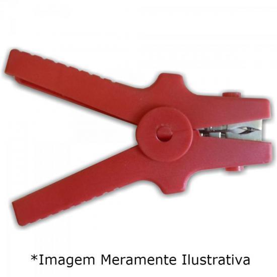 Garra Bateria Médio GI30 Vermelho FUSIBRAS