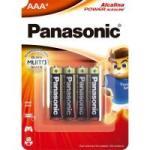Pilha AAA 1,5 V LR03XAB/4B1 PANASONIC