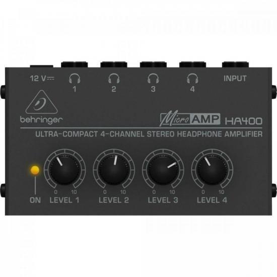 Amplificador para fone de ouvido HA400 BEHRINGER