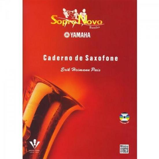 Método Com CD Sopro Novo Yamaha SAXOFONE
