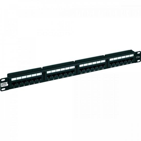 Patch Panel CAT5e T568A/B 24P SOHOPLUS