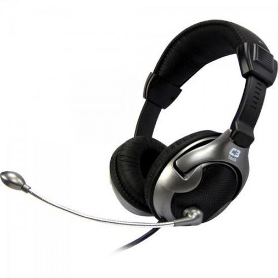 Headset Vibration Xcite Volcano MI-2881RS Preto C3 TECH