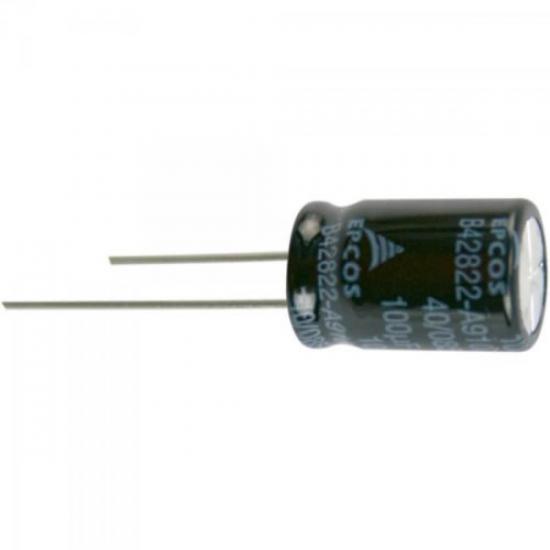 Condensador Eletrolítico 100/100V BIPOLAR EPCOS