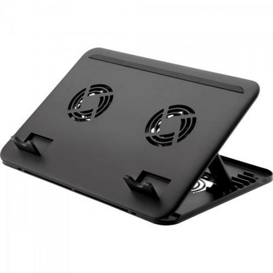 Suporte para Notebook com Cooler Duplo AC103 MULTILASER
