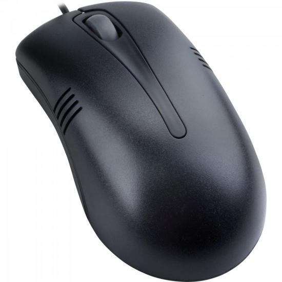 Mouse Scroll USB 800DPI MS3203-2 Preto COLETEK