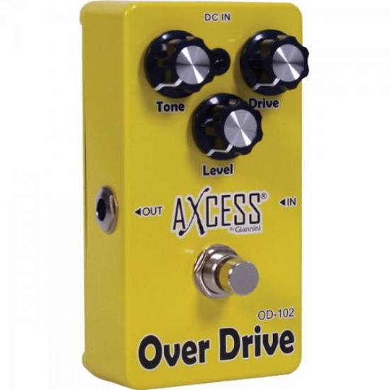 Pedal de Efeito Overdrive OD102 AXcess by GIANNINI