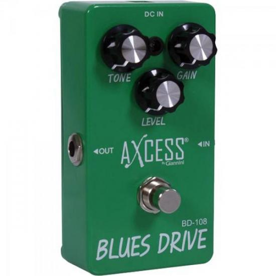 Pedal de Efeito Blues Drive BD108 AXcess by GIANNINI