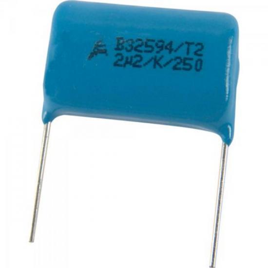 Condensador Poliester 2M2/250V 32594 27,5MM EPCOS