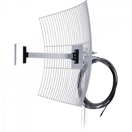 Antena Parabólica Para Internet 20dBi MM-2420F10 AQUÁRIO