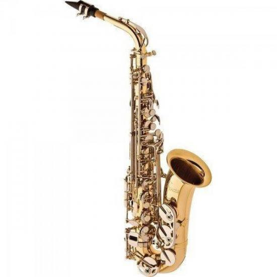 Saxofone Alto Eb SA500-LN Niquelado EAGLE