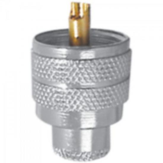 Conector KM1M1 1/3002 Macho c/redutor RG58 MC INDUSTRIAL