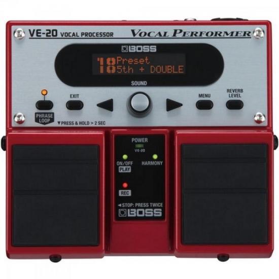 Pedal Para Voz Processador Vocal VE20