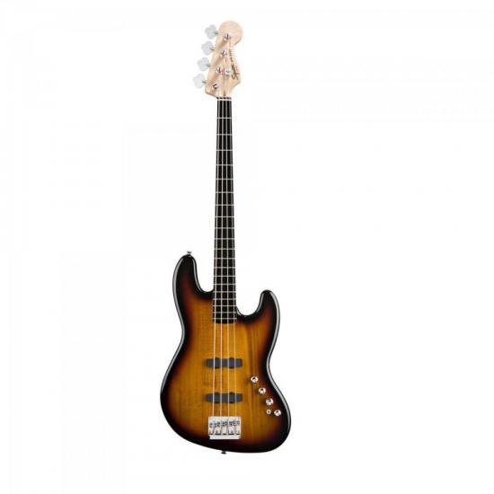 Contrabaixo Deluxe Jazz Bass Ativo 5 Cordas Sunburst SQUIER by FENDER