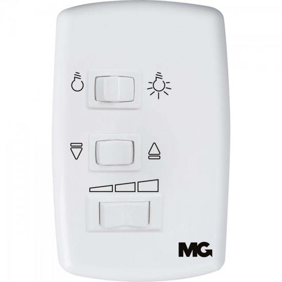 Controle Ventilador de Teto 220V Branco MARGIRIUS