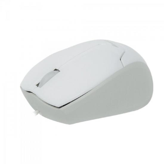 Mini Mouse Retrátil USB MM-601 Branco FORTREK