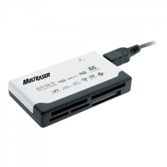 Leitor de Cartão de Memória USB 46 em 1 AC076 MULTILASER