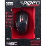 Mouse Gamer SPIDER OM-701 Preto/Vermelho FORTREK