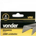 Grampo 6MM VR-6 C/1000 VONDER