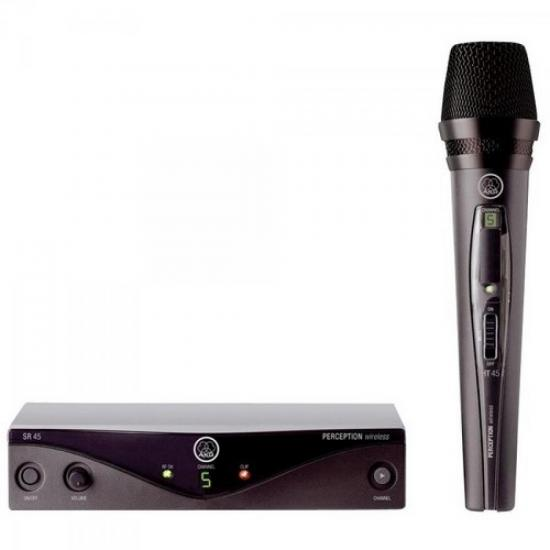 Microfone Wireless PW45 VSET B1 Preto AKG