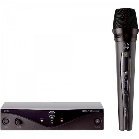 Microfone Wireless PW45 VSET B2 Preto AKG