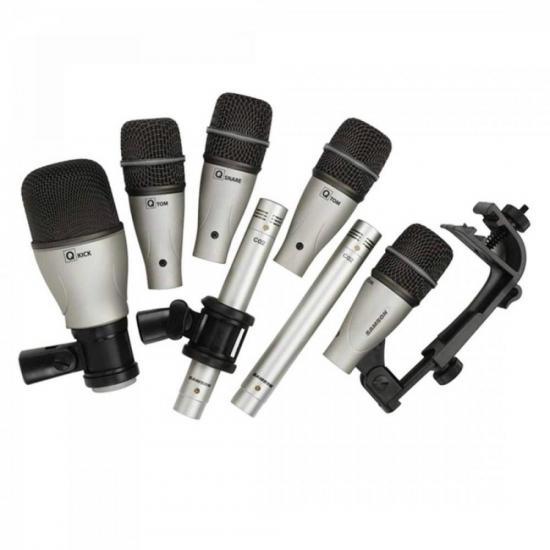 Kit Microfones Com 7 Para Bateria DK7 SAMSON