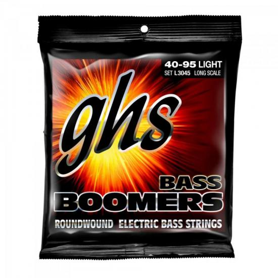 Encordoamento para Contrabaixo 4 cordas Boomers L3045 GHS
