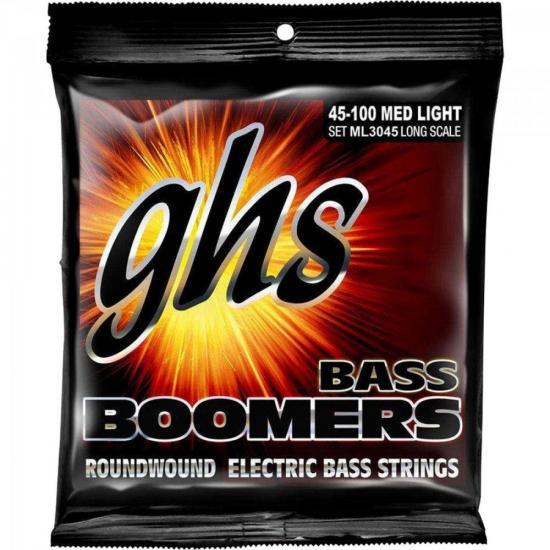 Encordoamento 4 Cordas Para Contrabaixo ML3045 Bass Boomers GHS