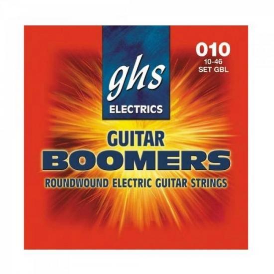Encordoamento Para Guitarra GBL010 Boomers 0.10 GHS